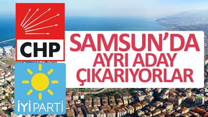 İYİ Parti ve CHP ayrı adaylar çıkartıyor