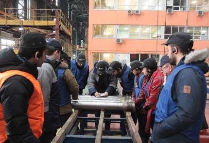 Akkuyu NGS'de çalışacak Türk mühendisler Atommash'da uygulamalı eğitimlerini tam