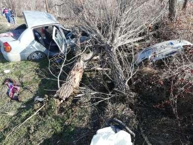 Sungurlu'da trafik kazası: 2 yaralı