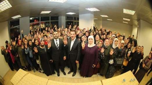 Başkan Tok: 'Cumhur İttifakı birlikteliğin ve kardeşliğin harcı'