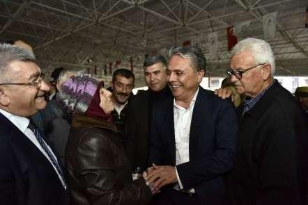 Başkan adayı Uysal: 'Yedi Arıkları Antalya'ya kazandıracağız'