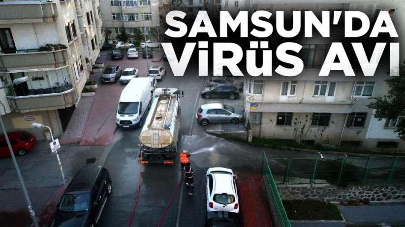 Samsun'da virüs avı