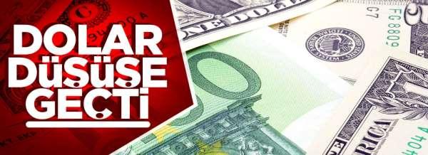 Dolar Düşüşe geçti! Dolar ve Euro ne kadar?