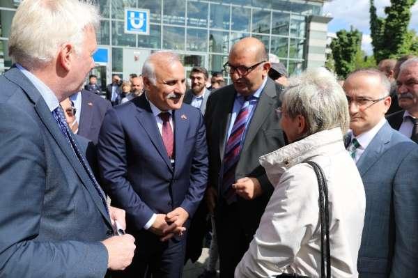 Dortmundda Trabzon Meydanı açıldı