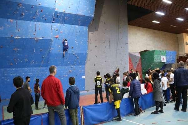 Spor Tırmanış Şampiyonası, Sivas'ta yapıldı