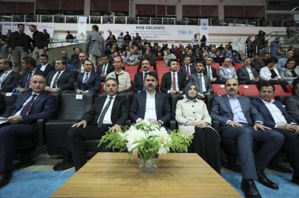 TOKİ'nin 50 bin yeni konutu için Konya'da kuralar çekildi