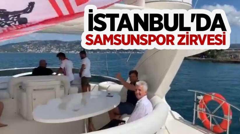 İstanbul'da Samsunspor zirvesi