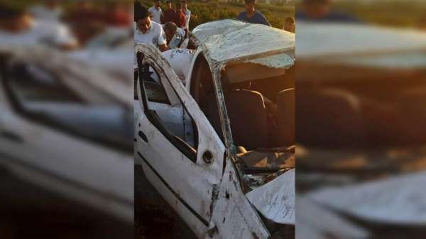Adana'da trafik kazası: 1 ölü, 3 yaralı