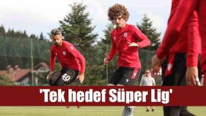 Samsunsporlu Burak Yılmaz: 'Tek hedef Süper Lig'