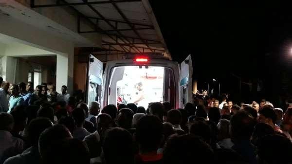 Kulp'taki patlamada şehit olanlar hastanelere taşınıyor