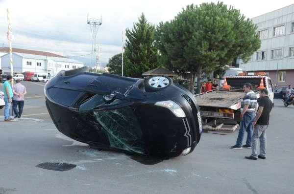 Ordu'da trafik kazası: 2 yaralı