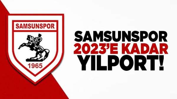 Samsunspor, 2023'e Kadar Yılport!