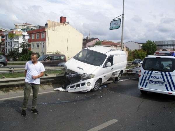 Şile yolunda zincirleme kaza: 1 yaralı