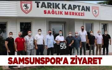 Samsunspor'a ziyaret