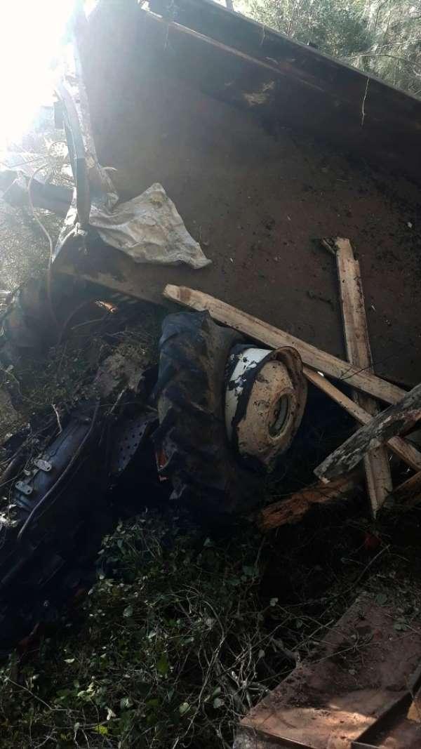 Muğla'da traktör kazası: 1 ölü