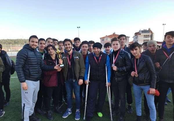 Okul Sporları Genç Erkek Futbol Müsabakaları sona erdi