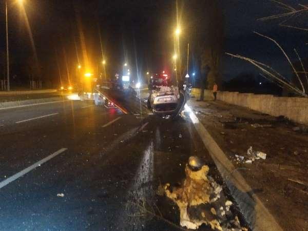 (Özel) Bakırköy'de ortalığı savaş alanına çeviren kazadan sağ çıktı