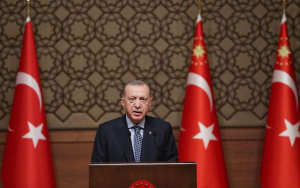 Cumhurbaşkanı Erdoğan: 'Sanal dünyada da terör propagandasına, terörün zemin kazanmasına müsaade edemeyiz'