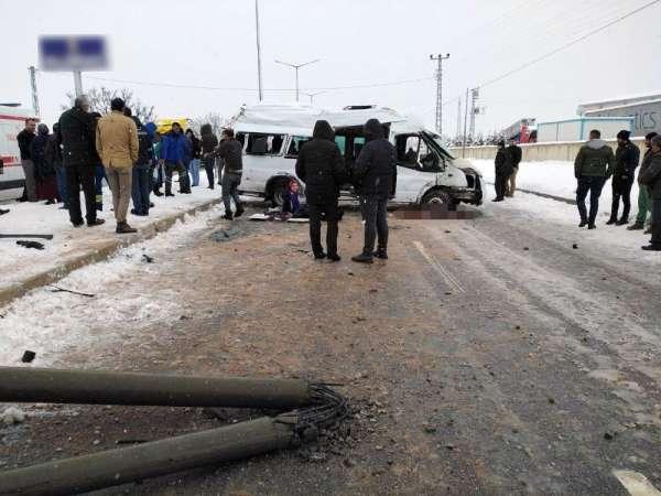 2 kişinin hayatını kaybettiği kaza güvenlik kamerasında