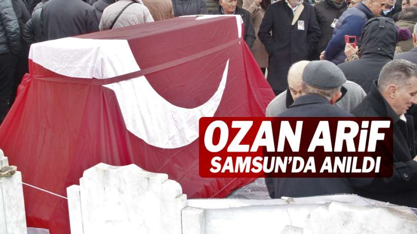 Ozan Arif Samsun'da mezarı başında anıldı