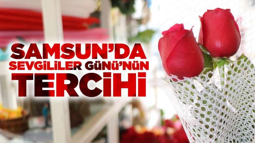 Samsun'da Sevgililer Günü'nün tercihi