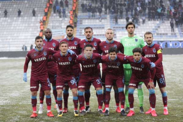Ziraat Türkiye Kupası: BB Erzurumspor: 1 - Trabzonspor: 1 (İlk yarı)