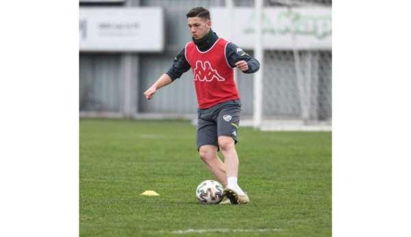 Bursaspor, Tuzlaspor maçının taktiğini çalıştı