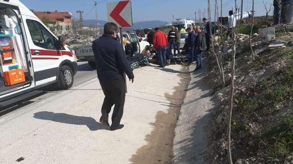 Bilecik'te trafik kazası; 4 yaralı