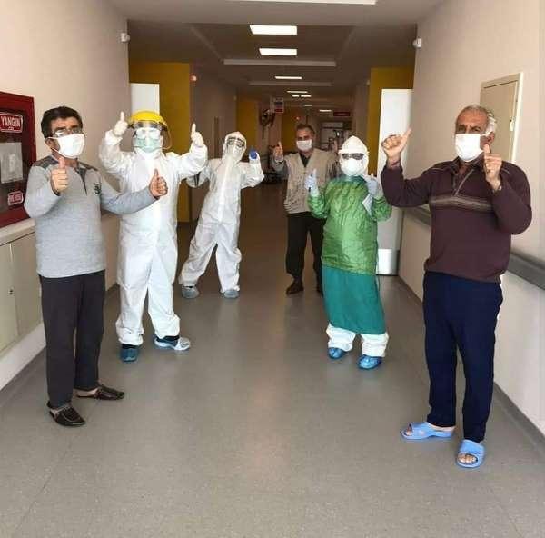 Sinop'ta korona virüsü yenen 8 kişi taburcu oldu