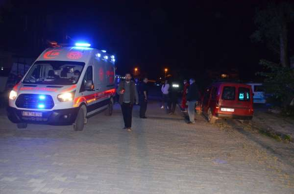 Köpeklerin saldırısından kaçtı, kaza yaptı: 2 yaralı