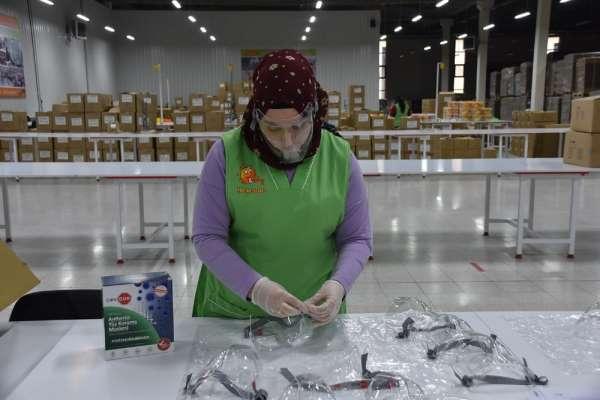 Sinop'ta üretilen maskeler ülke sınırlarını aşacak