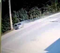 1 kişinin öldüğü feci kazanın güvenlik kamerası görüntüleri ortaya çıktı