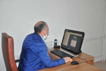 Kafkas Üniversitesi'nde son dersi Rektör Kapu verdi