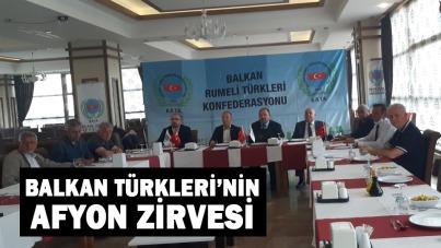 BALKAN TÜRKLERİ'NİN AFYON ZİRVESİ