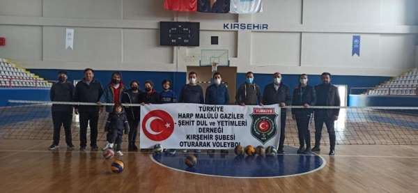 Harp Malulü Gaziler, 1.lig müsabakalarında Kırşehiri temsil edecek