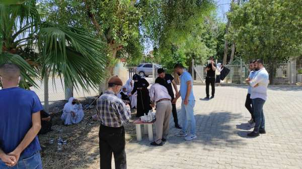 Nusaybindeki kazada hayatını kaybeden öğretmen toprağa verildi