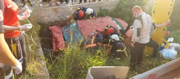 Orduda trafik kazası : 2 ölü