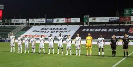 Süper Lig: Denizlispor: 0 - Trabzonspor: 1 (İlk yarı)
