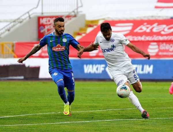Süper Lig: Kasımpaşa: 0 - Çaykur Rizespor: 0 (İlk yarı)