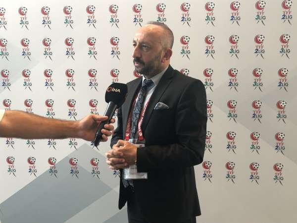 Ahmet Eraslan: Hedefimiz şampiyonluk