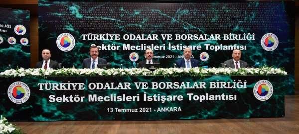 Bakan Muş, Türkiye Sektör Meclisi temsilcilerinden problemlerini dinledi