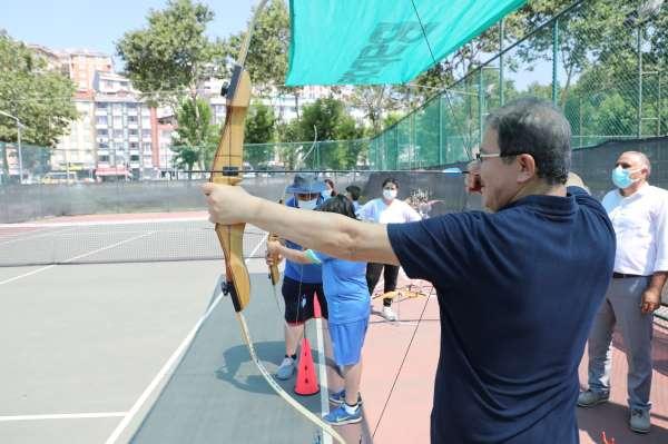 Eyüpsultanlı çocuklar Yaz Spor Okulları Şenliğinde doyasıya eğlendi