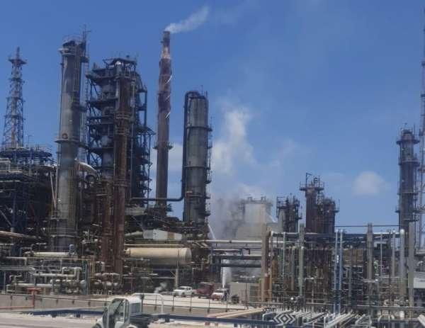 İsrailde petrol rafinerisinde patlama
