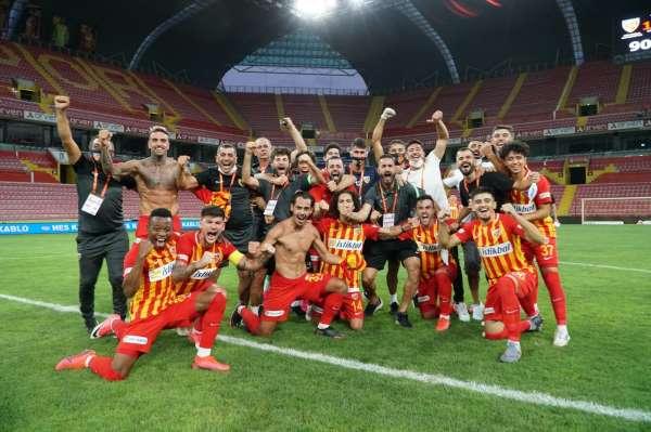 Kayserispor 26. kez Süper Ligde