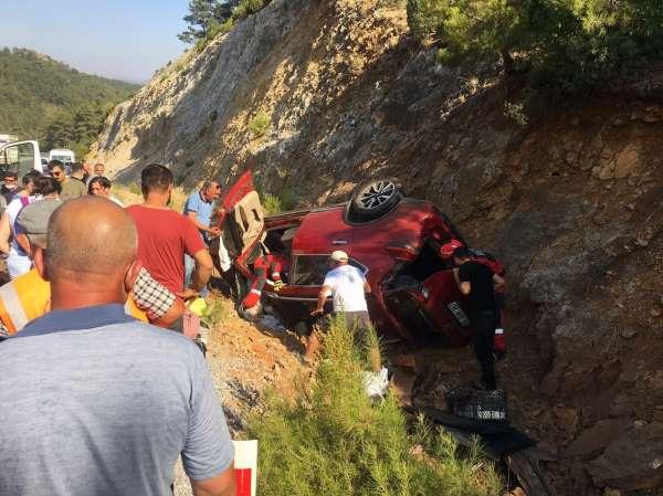 Kazada 5 kişi hafif yaralandı
