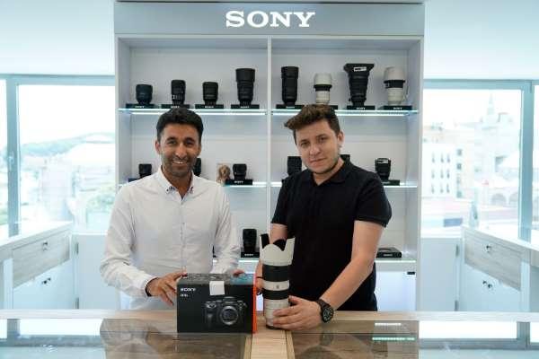 Mehmet Şirin Topaloğlu, Sony Avrupa marka elçisi oldu