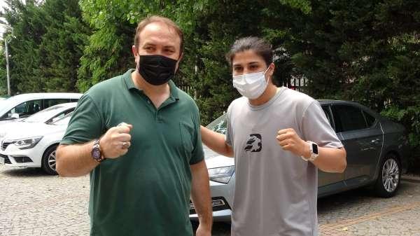 Milli boksör Sudenaz, Ordudaki kampı tamamladı