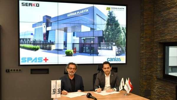 Serdar Plastik A.Ş., IAS teknoloji firmasının canias4.0 teknolojileri ile gücüne güç katacak