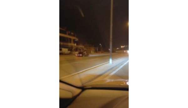Ters şeride giren sürücü kazaya davetiye çıkardı