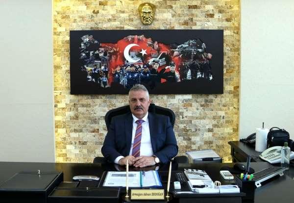 Tokat İl Emniyet Müdürü Erdoğan, görevine başladı